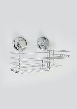 Wire Shower Shelf (28cm x 14cm x 12cm)