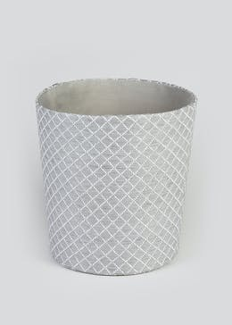 Quilted Fabric Bin (26cm x 26cm)