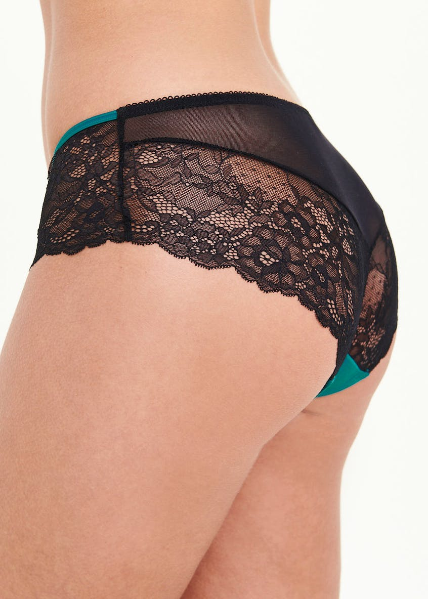 Satin Lace Short Knickers