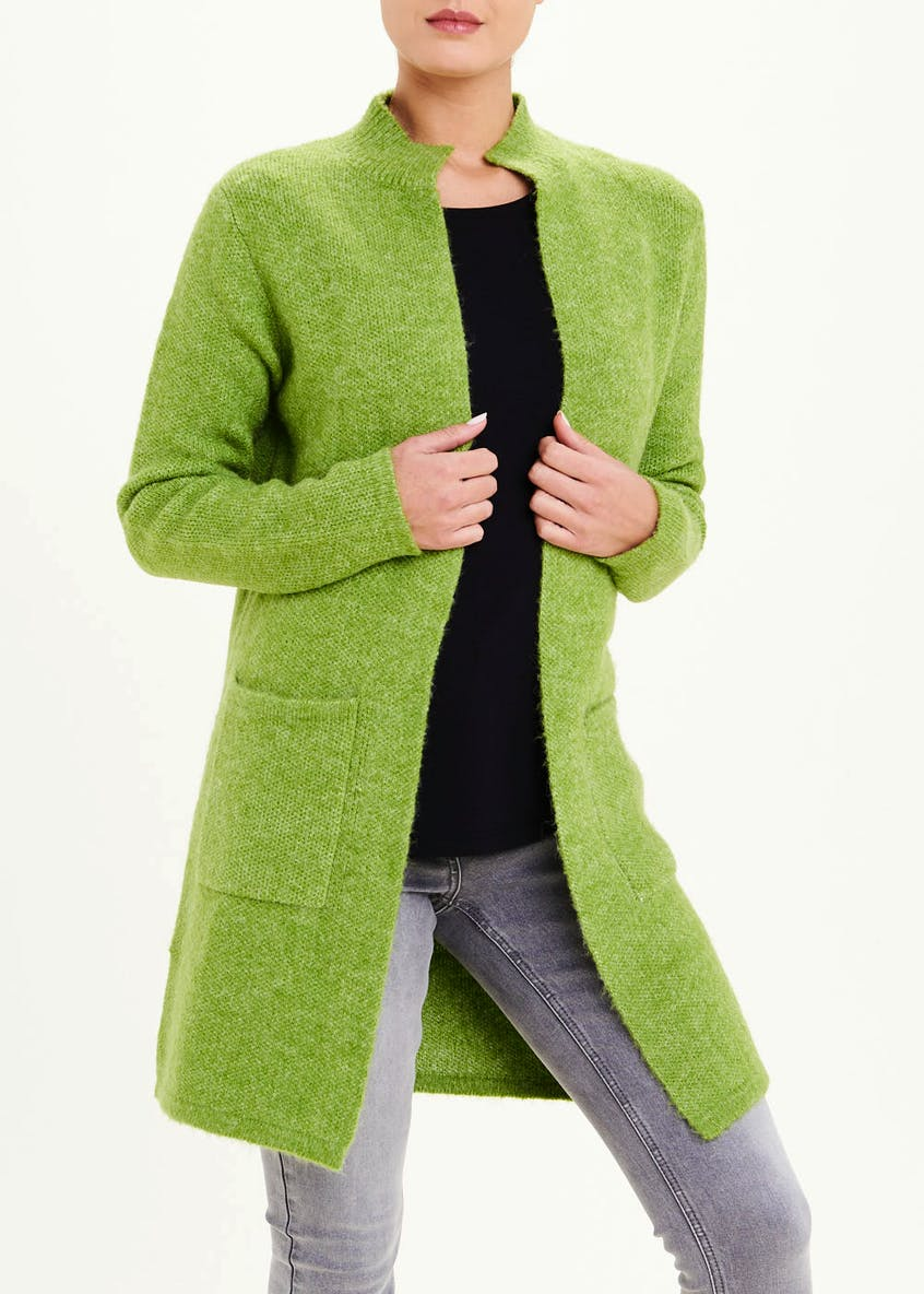 Funnel Neck Smart Cardigan