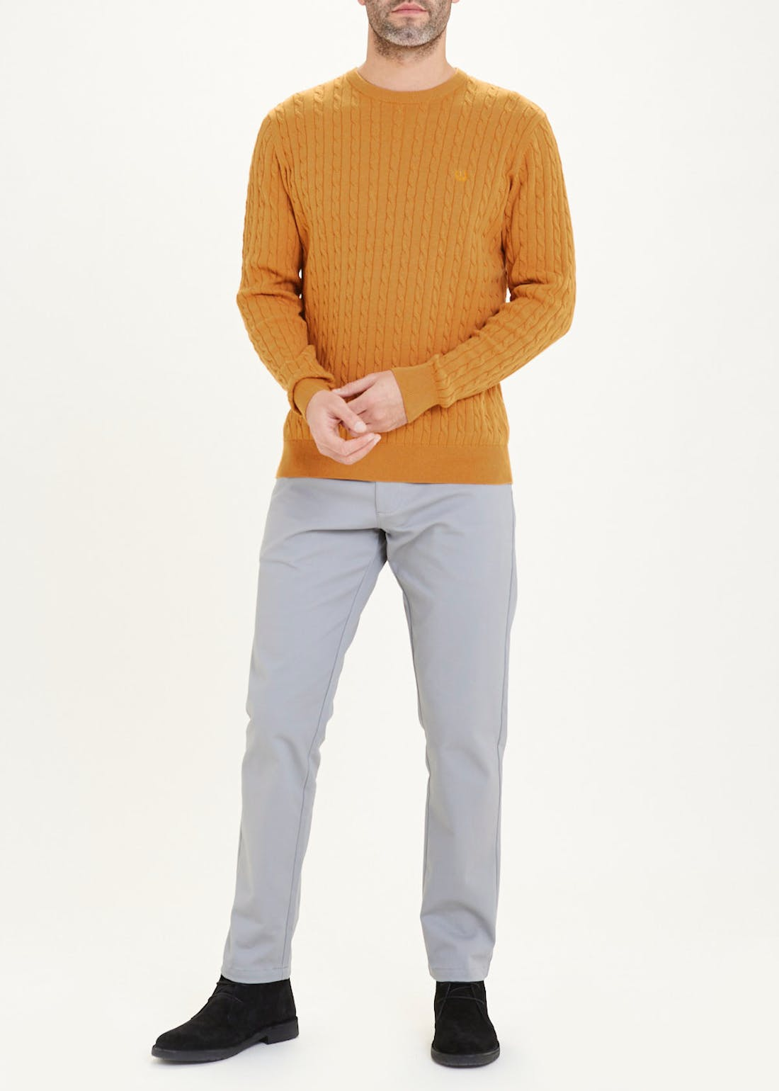 Lincoln Cable Knit Jumper