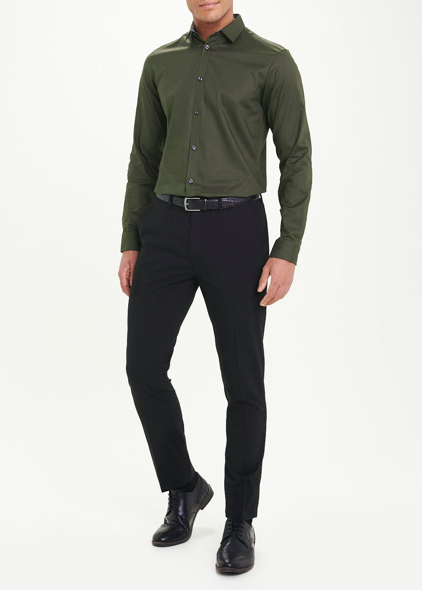 Taylor & Wright Slim Fit Long Sleeve Shirt