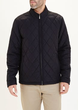 Lincoln Black Quilted Jacket