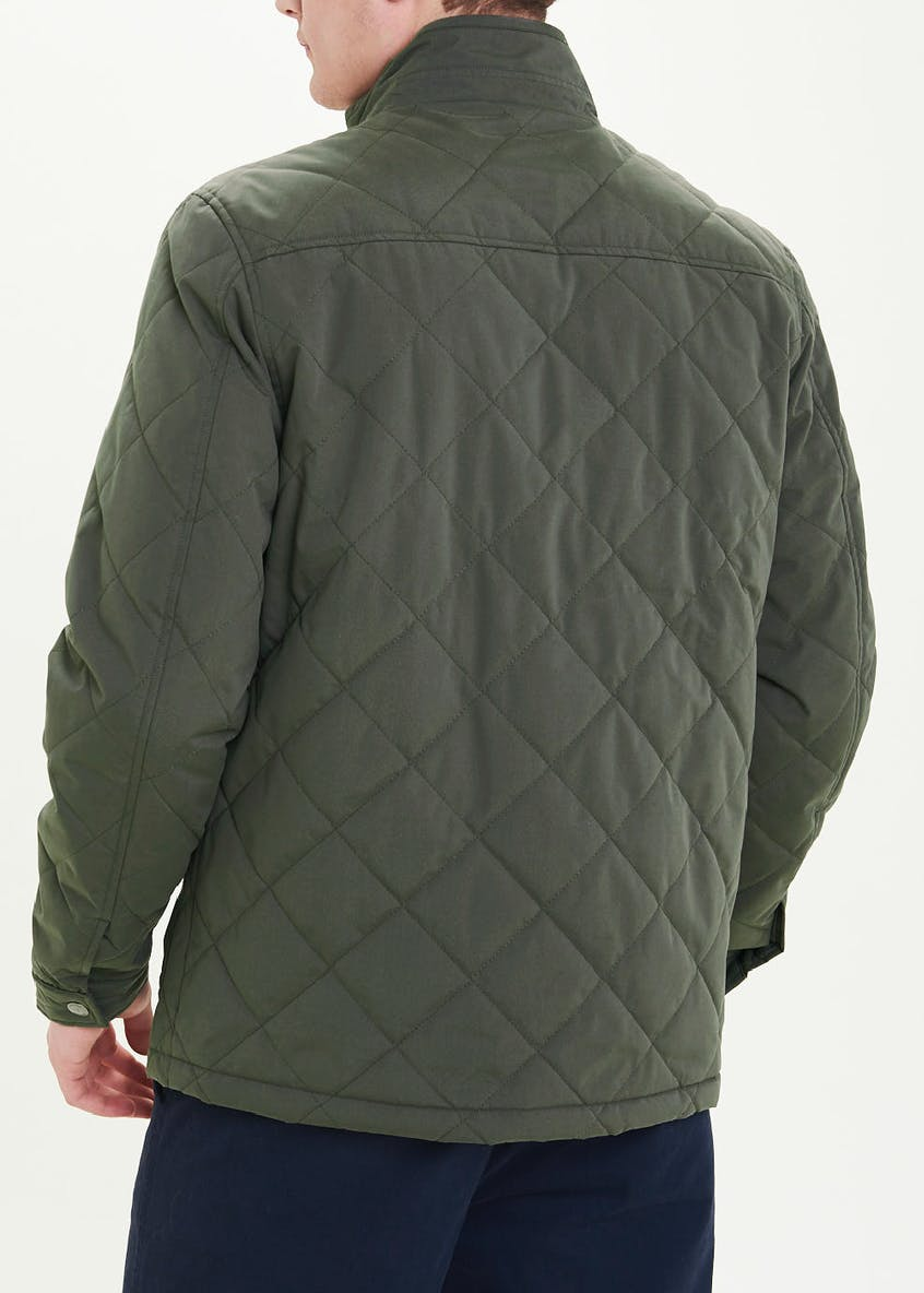 Lincoln Khaki Quilted Broughton Jacket