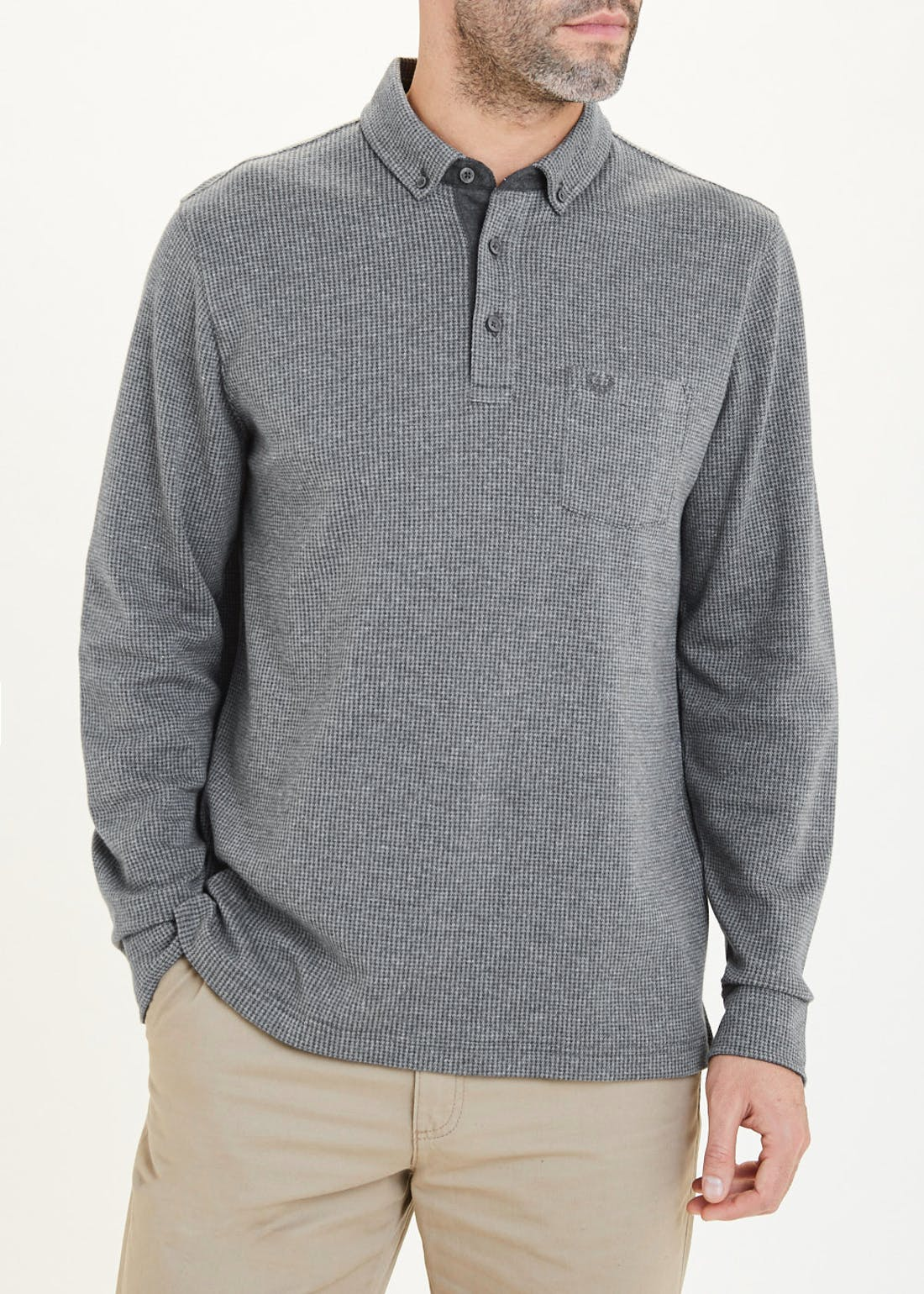 Lincoln Long Sleeve Polo Shirt