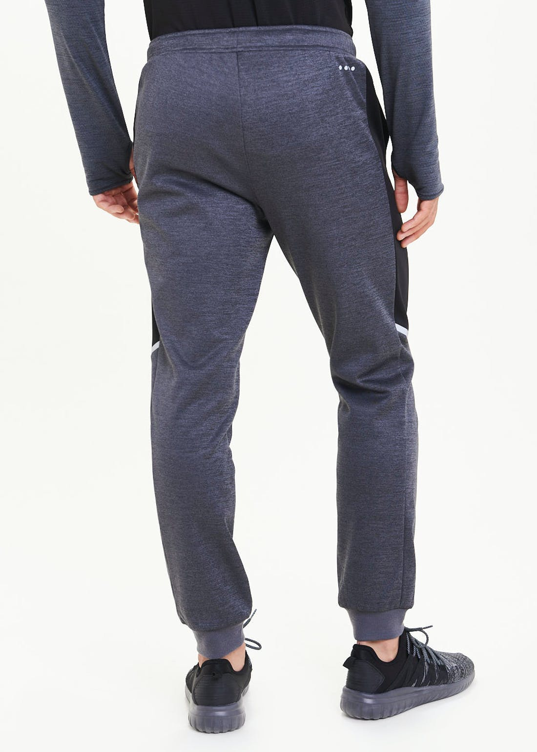 Souluxe Grey Contrast Joggers