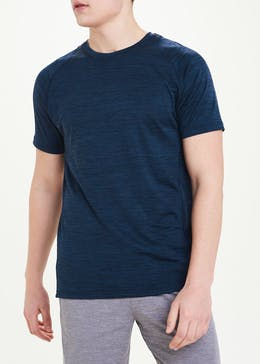 Souluxe Navy Basic Gym T-Shirt