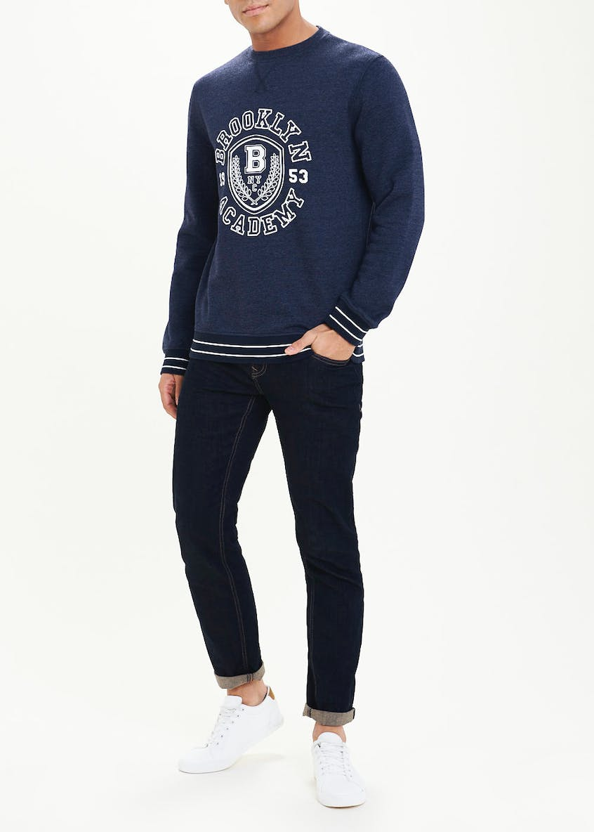 Brooklyn Academy Print Sweatshirt