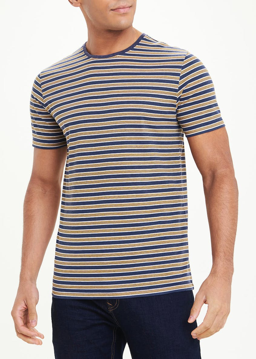 Stripe Crew Neck T-Shirt