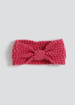 Girls Knit Bandeau Headband