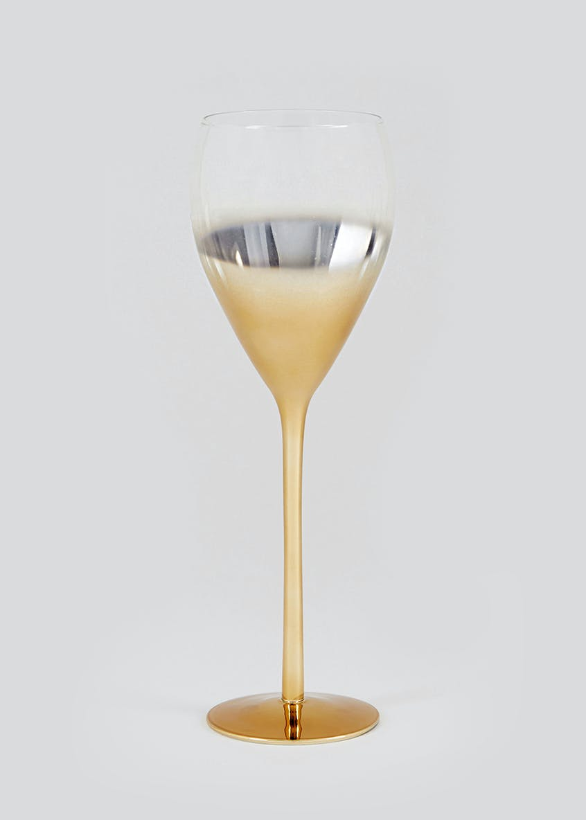 Metallic Ombre Wine Glass (25cm x 8cm)
