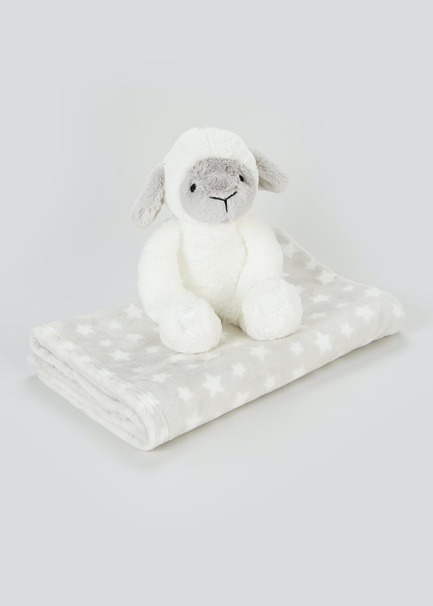 Lamb Comfort Blanket (One Size)