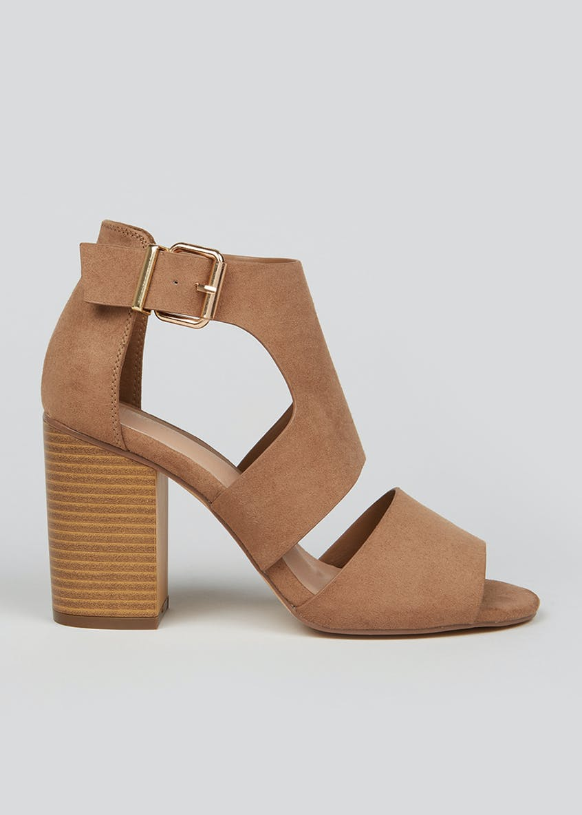 Wide Fit Tan Shoe Boots