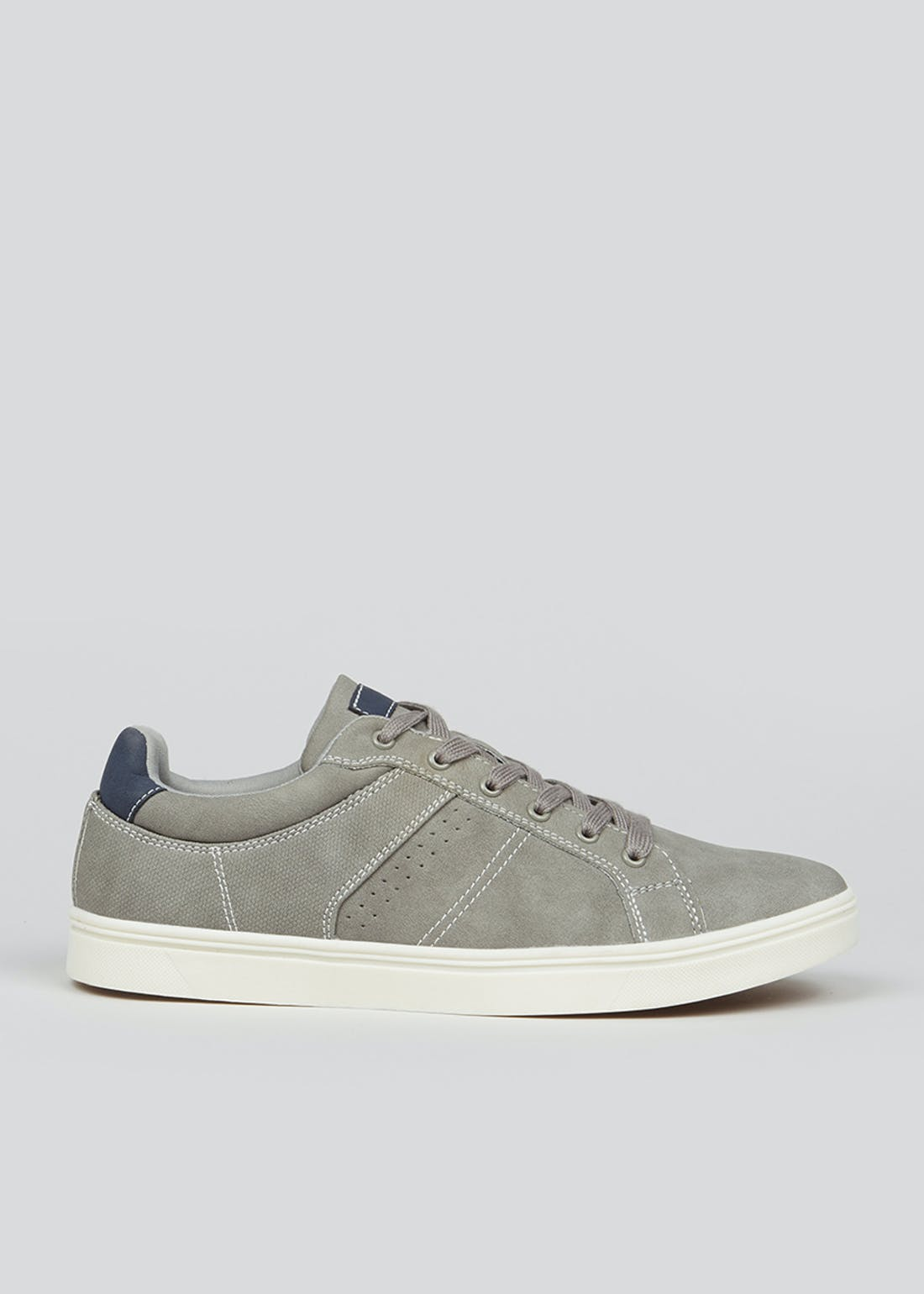 Grey Cupsole Trainers