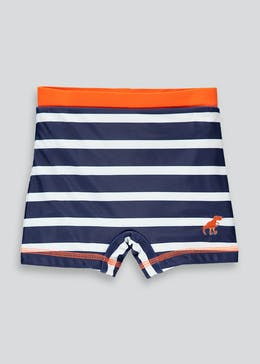 Boys Stripe Swimming Trunks (9mths-6yrs)