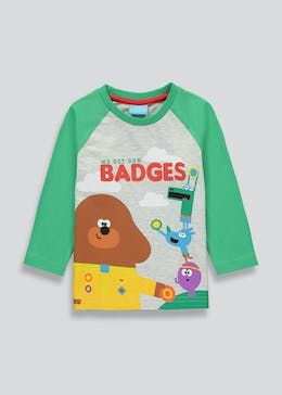 Kids Hey Duggee Long Sleeve T-Shirt (9mths-5yrs)