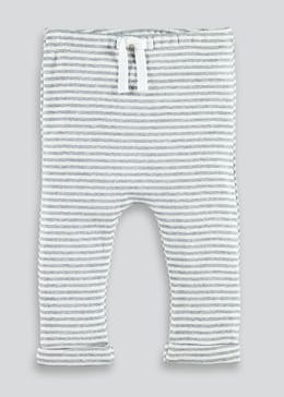 Unisex Stripe Jogging Bottoms (Tiny Baby-23mths)