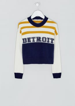 Girls Candy Couture Detroit Cropped Jumper (9-16yrs)