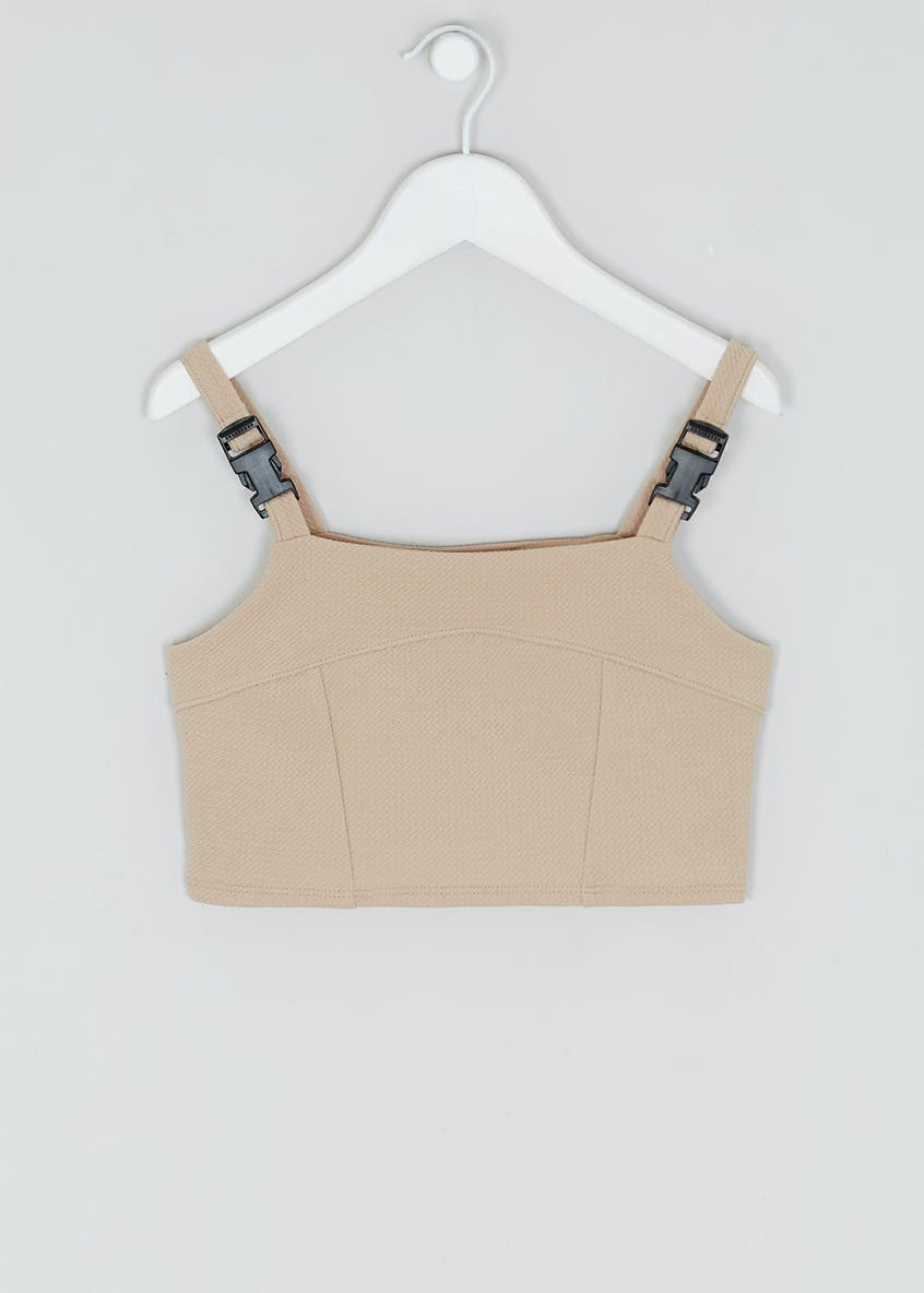 Girls Candy Couture X Utility Co-Ord Crop Top (9-16yrs)
