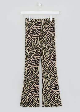 Girls Candy Couture X Co-Ord Zebra Flares (9-16yrs)