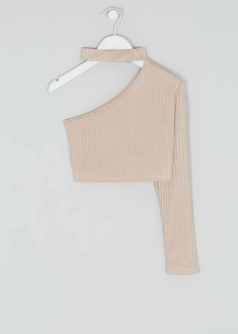 Girls Candy Couture X One Shoulder Top (9 16yrs) by Matalan
