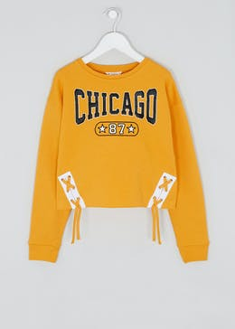 Girls Candy Couture Chicago Sweatshirt (9-16yrs)