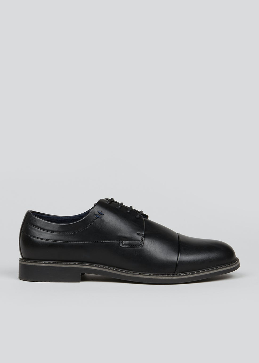 Wide Fit Black Gibson Brogues