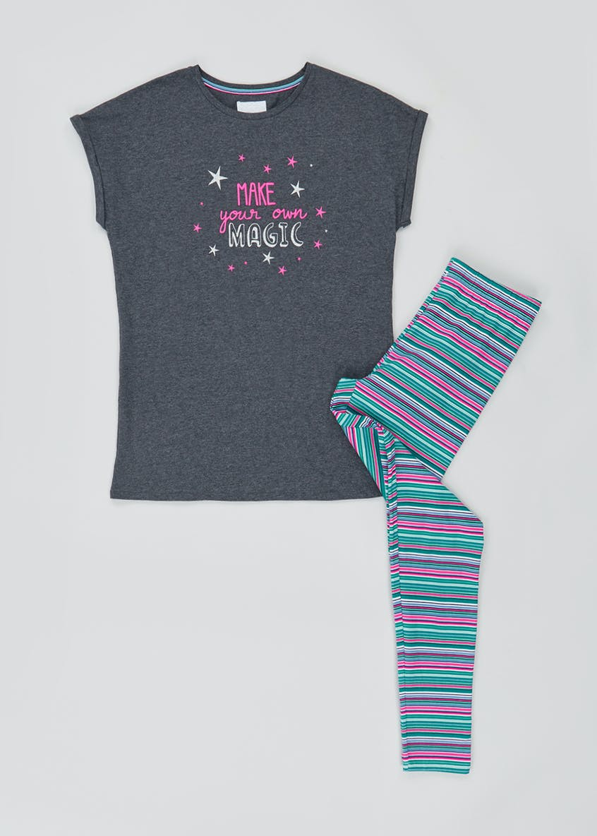 Magic Slogan Pyjama Set