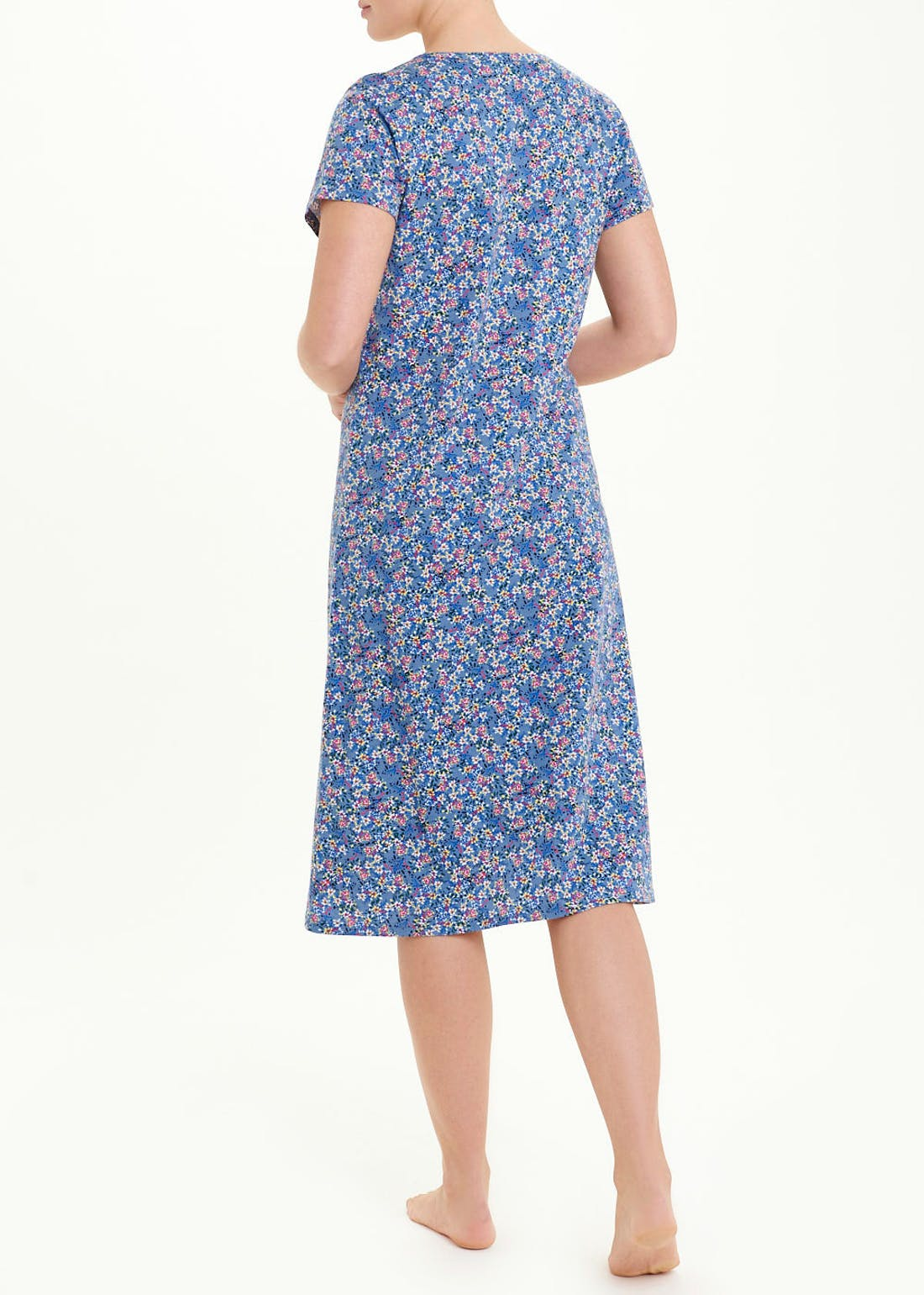 Ditsy Floral Classic Button Nightie
