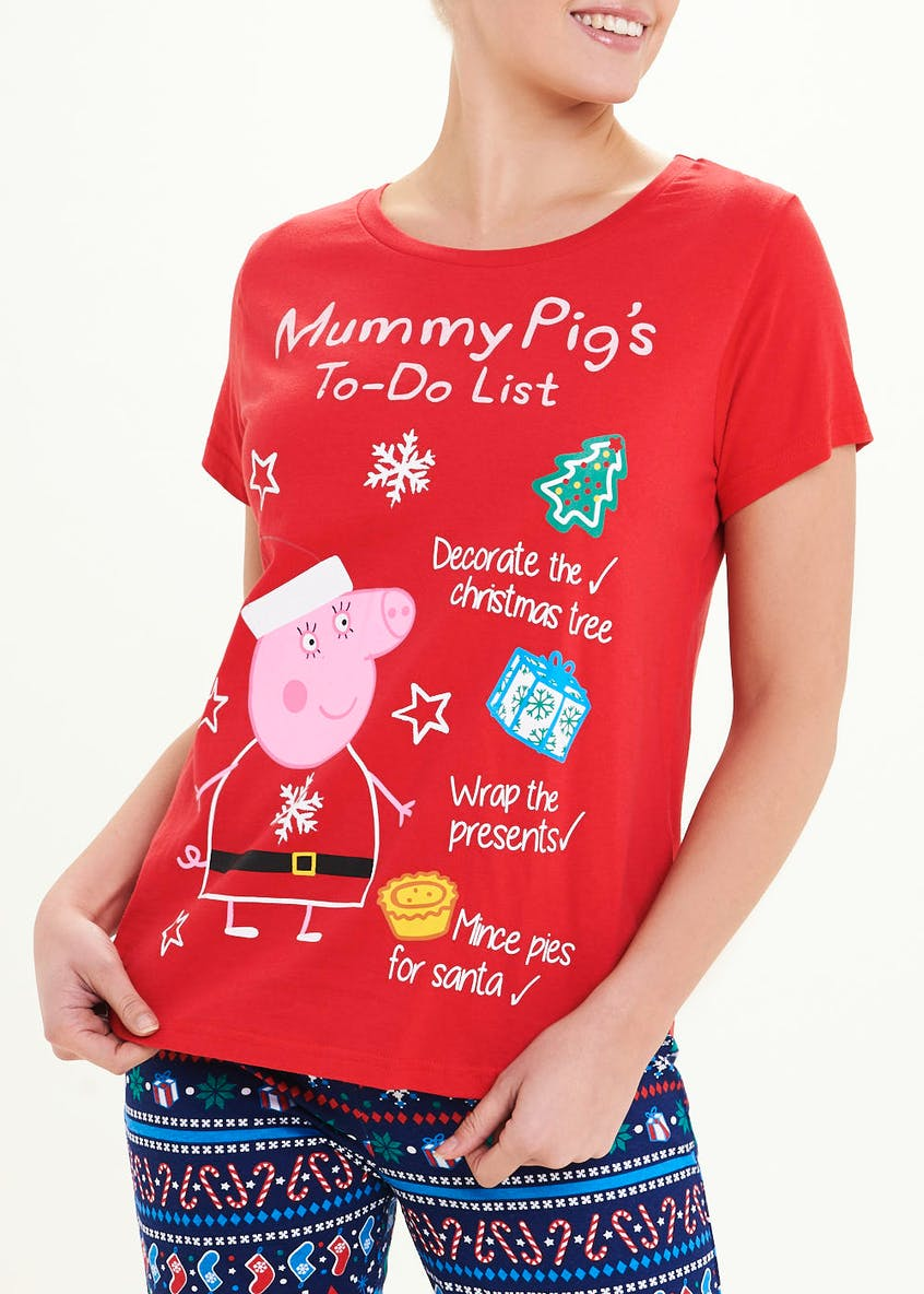 Mummy Pig Christmas Pyjama Set