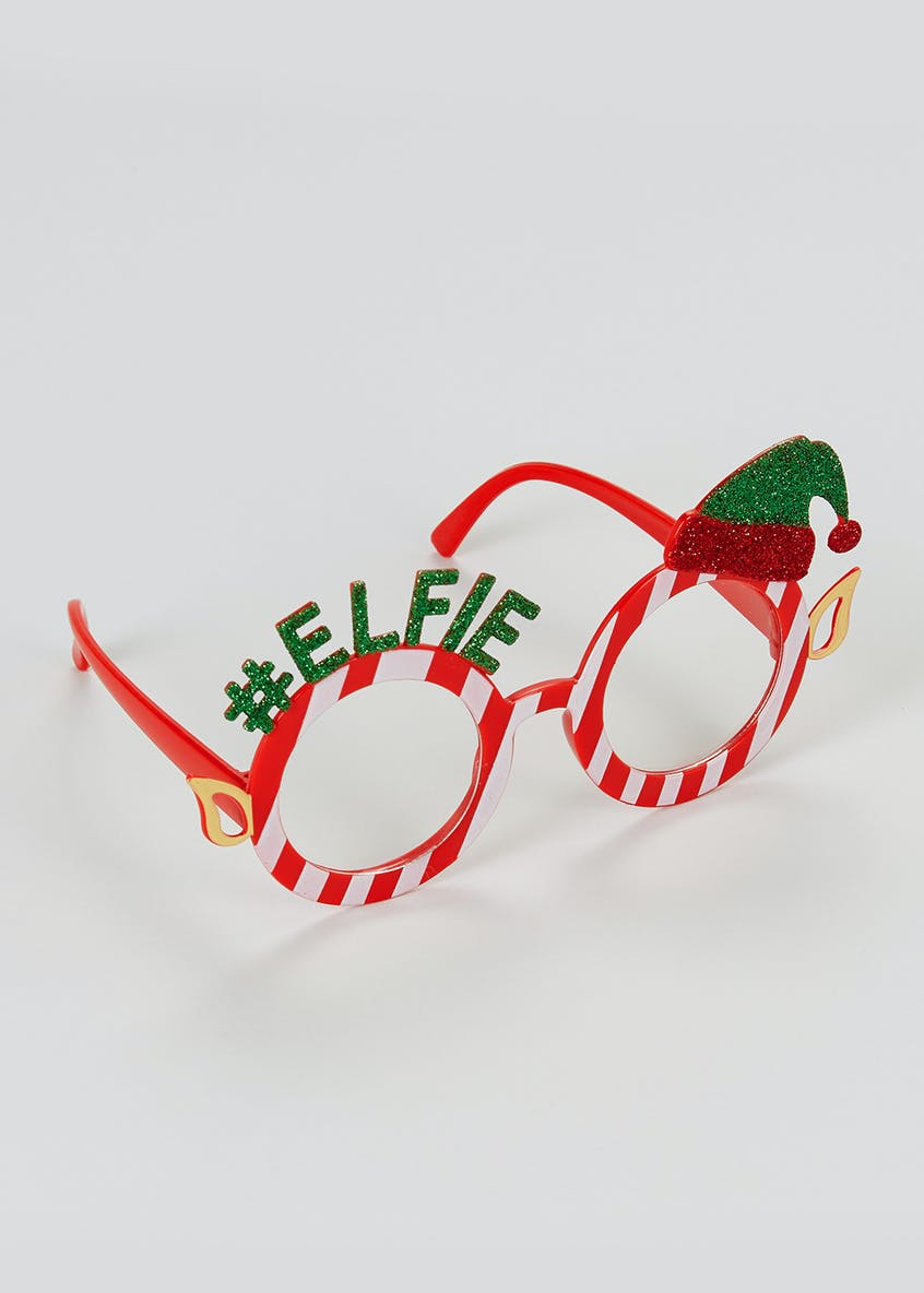 Christmas Novelty Elfie Glasses