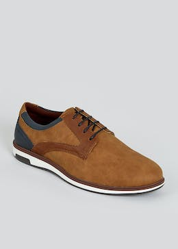 Tan Casual Gibson Shoes