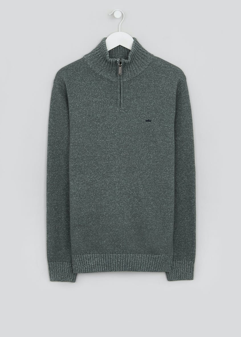 Quarter Zip Jumper