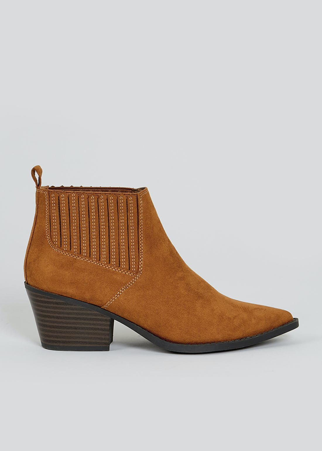 Tan Western Point Boots