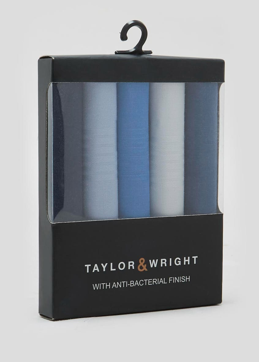Taylor & Wright 5 Pack Handkerchiefs