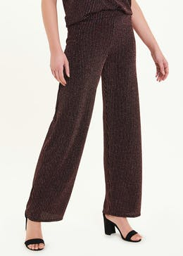Glitter Stripe Co-Ord Trousers