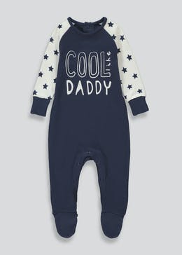 Boys Cool Like Daddy Baby Grow (Tiny Baby-12mths)