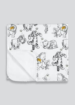 Winnie The Pooh Baby Blanket (One Size)