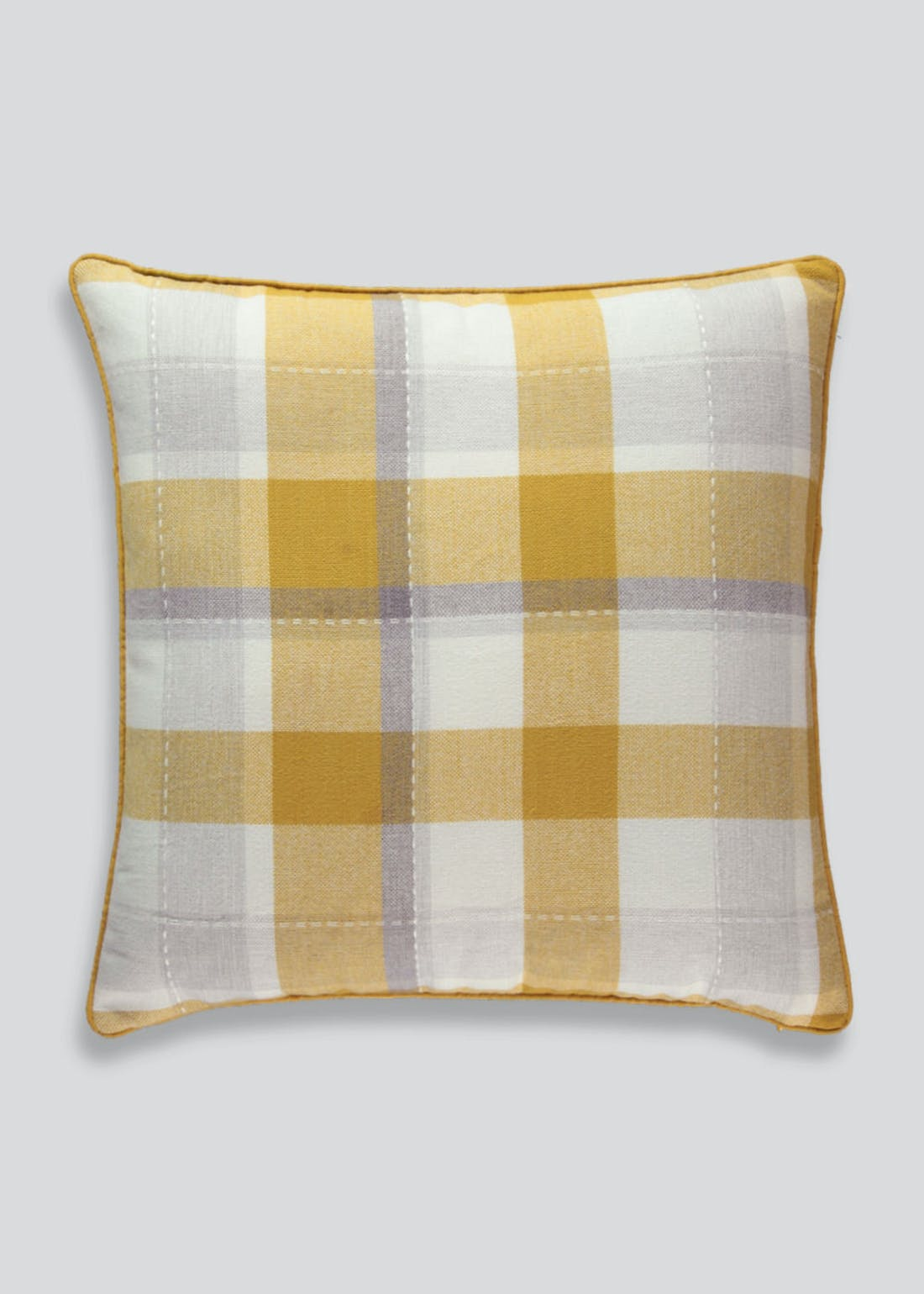 Large Check Cushion (58cm x 58cm)