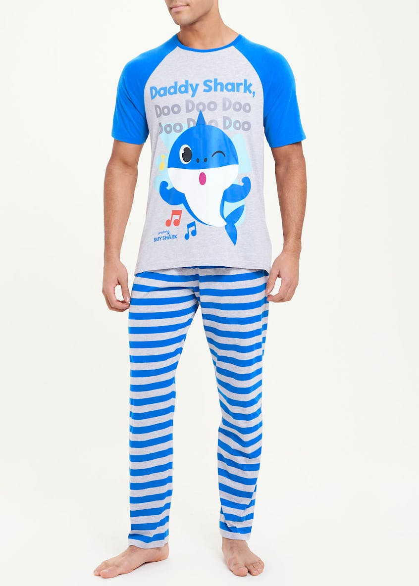 Baby Shark Daddy Shark Pyjama Set