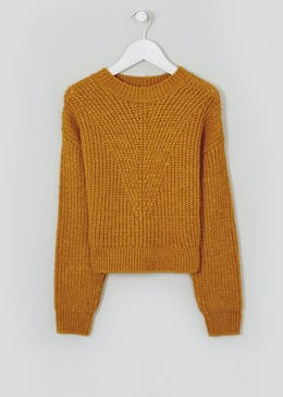 Girls Candy Couture Cropped Jumper (9-16yrs)