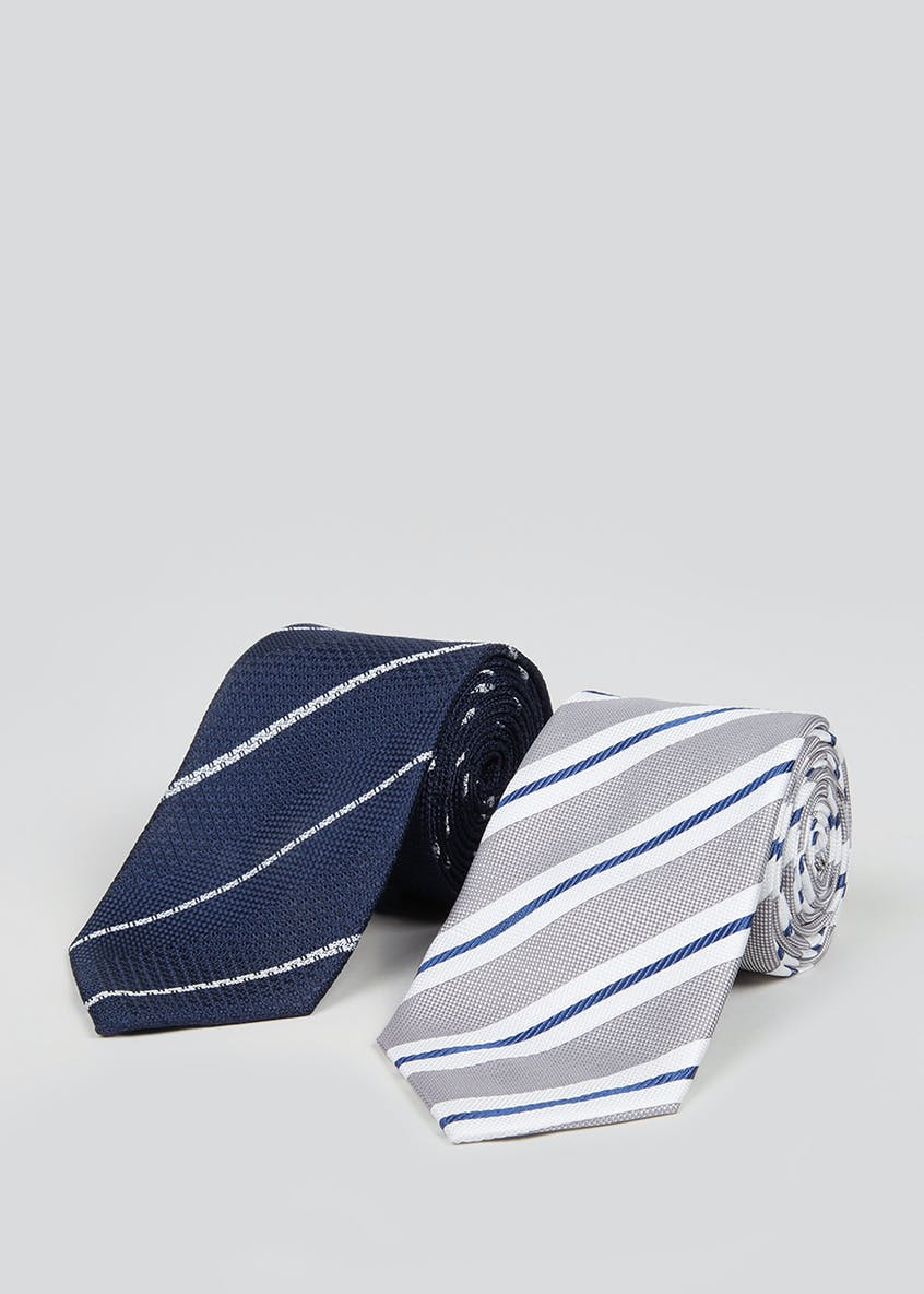 Taylor & Wright 2 Pack Stripe Ties