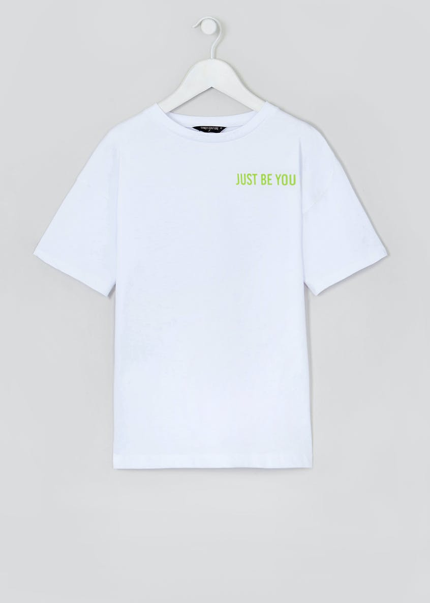 Girls Candy Couture X Be You Slogan T-Shirt (9-16yrs)