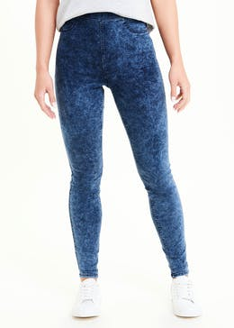 Rosie Acid Wash Jeggings