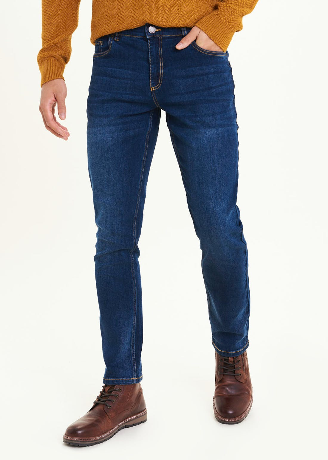 Farah Stretch Darkwash Jeans