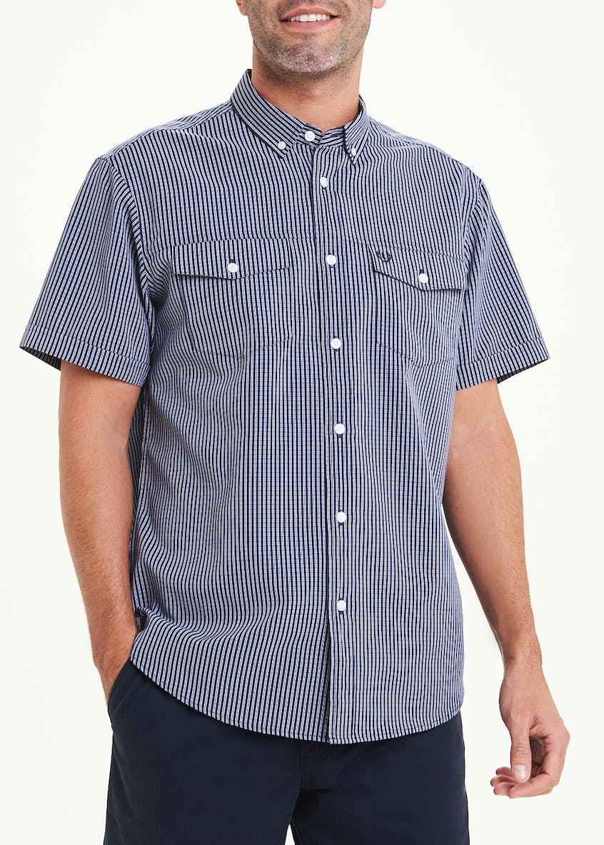 Lincoln Short Sleeve Pilot Shirt