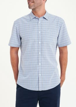 Lincoln Soft Touch Short Sleeve Check Shirt