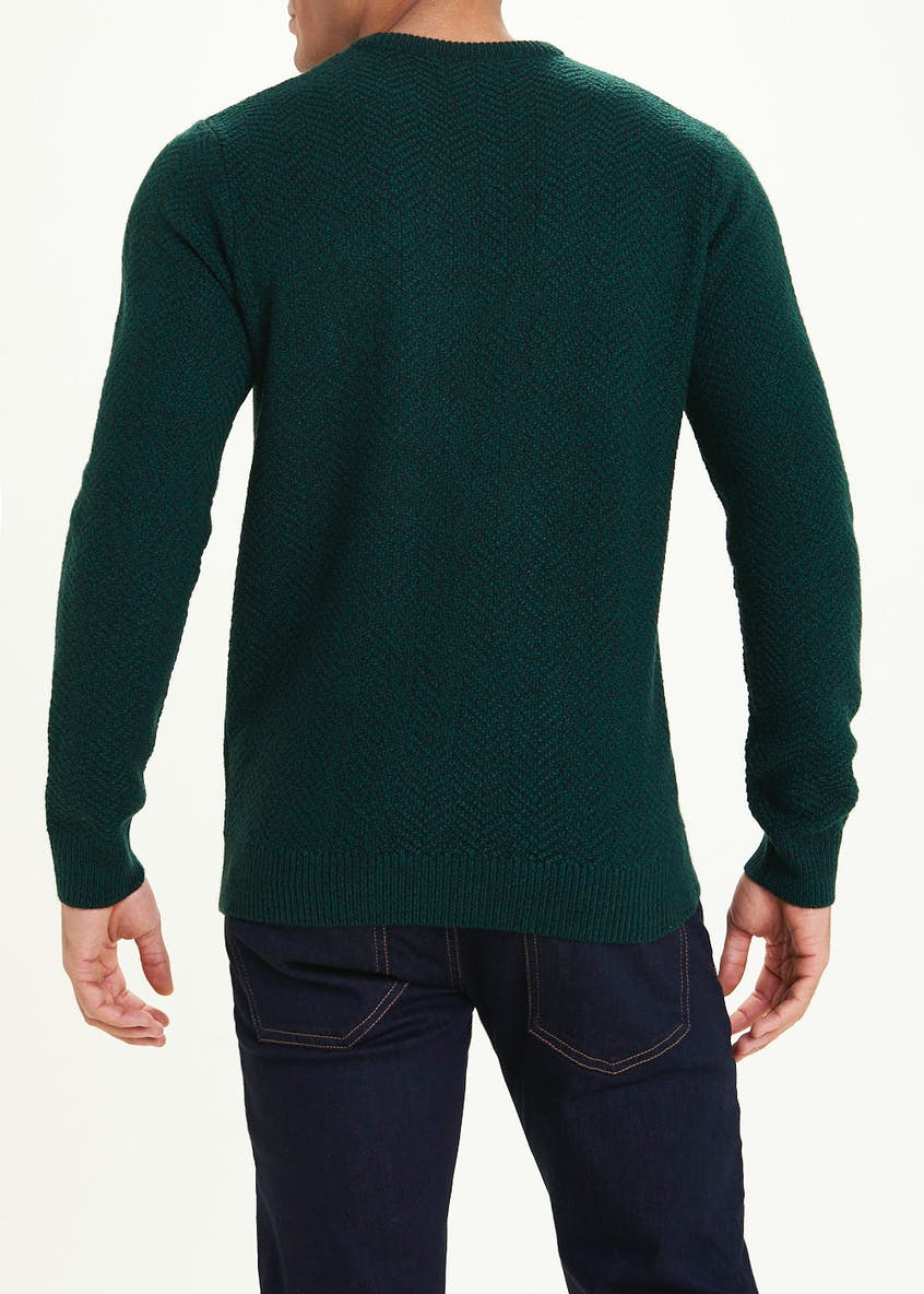 Fisherman Crew Neck Jumper
