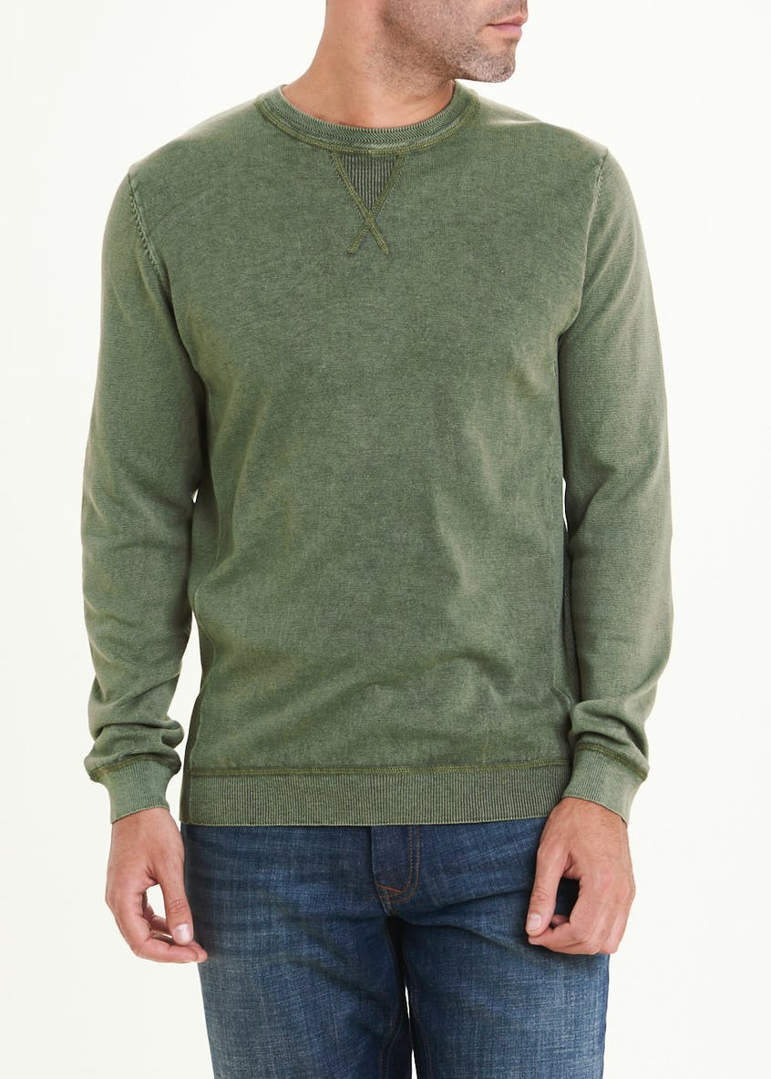 Morley Crew Neck Knit Sweatshirt
