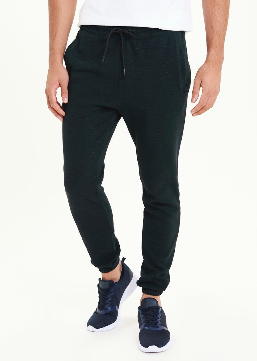US Athletic Space Dye Cuffed Jogging Bottoms